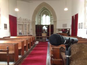 Sound system installations churches