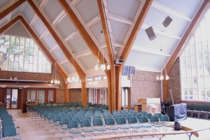 church audio visual installation