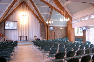 audio visual system for Surrey Church