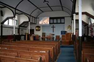 Church Induction Loop system, Tilehurst URC