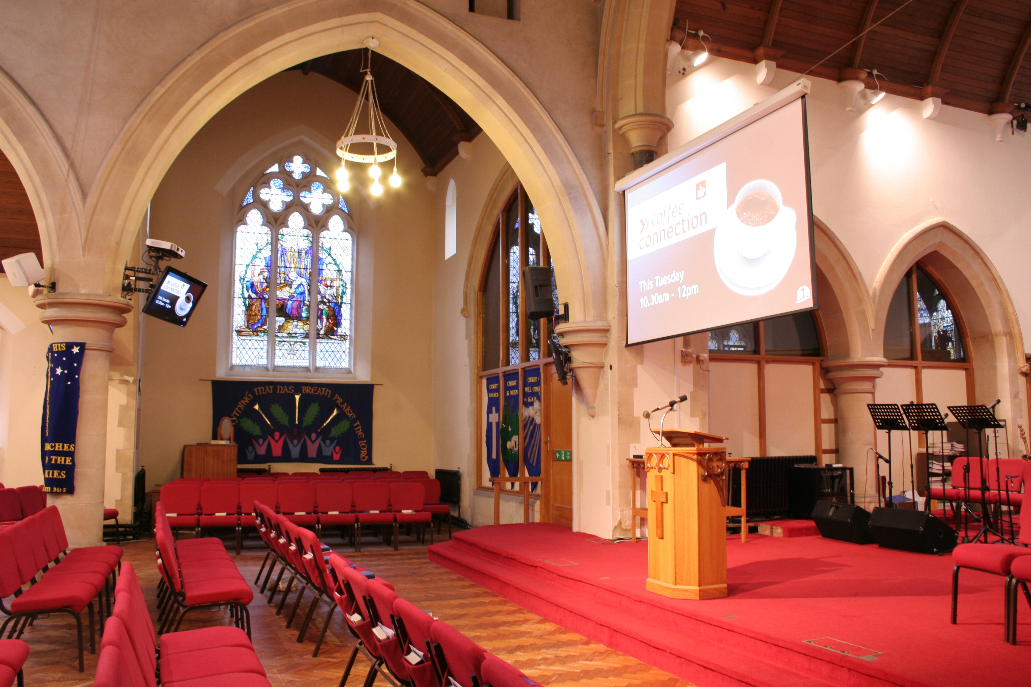 Church Sound Systems Amp Audio Visual Solutions Newtech