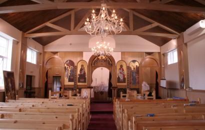 Multi-zone public address system for London Coptic Church