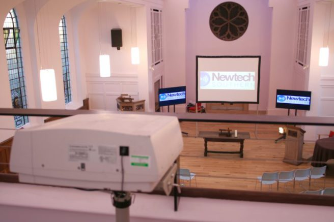 Church projector system
